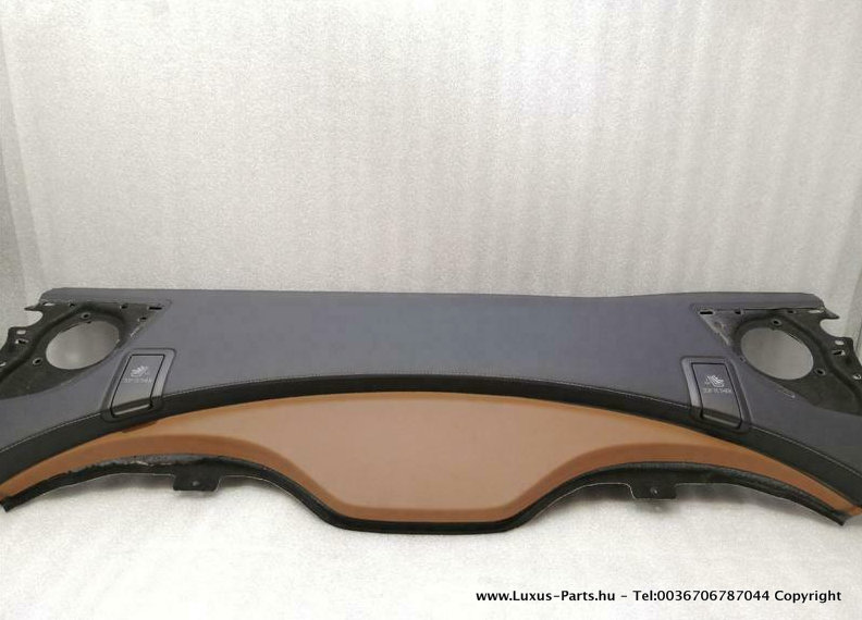 MERCEDES CL W217 - A2176902149 csomag polc LEATHER DESIGNO CL63 AMG CL65