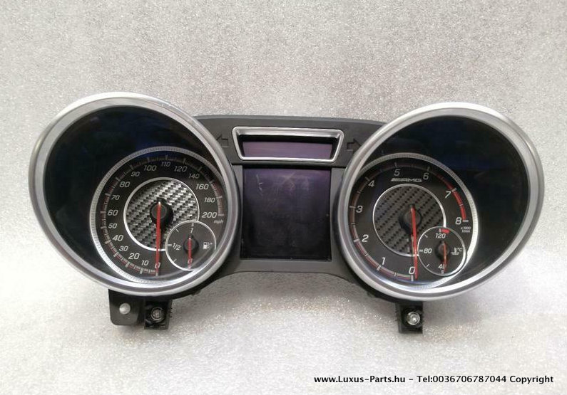 MERCEDES GLS63 AMG X166 W166 GLE MPH TACHO cluster A1669006519 Speedometer M157