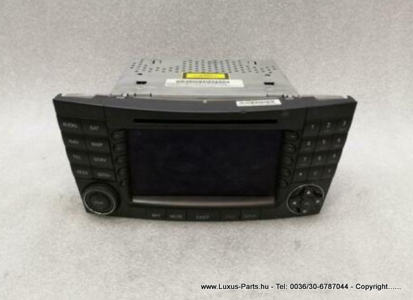 MERCEDES CLS W219 CD player A2118700289 Audiosystemkontroller COMAND NAVI