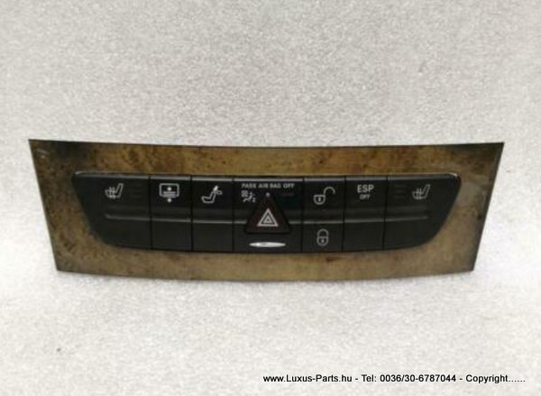 MERCEDES E Class W211 SWITCHBLOCK With Rollo A2118217658 Schalter