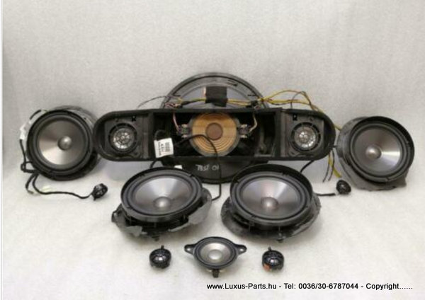 MERCEDES E Class W211 Speaker A2198200602 Lautsprecher Satz Set Logic7 L7 HK