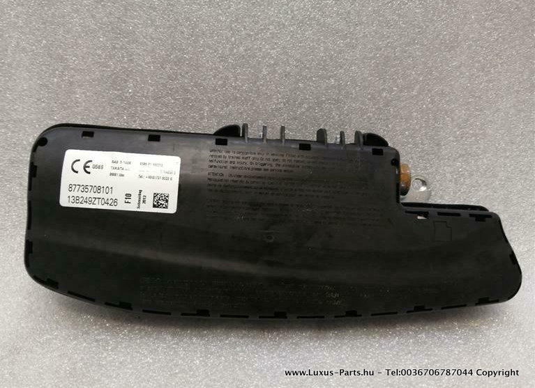 BMW 5 Series F10 Left Seat Safety Module 7357081 Links Sitz Modul SRS