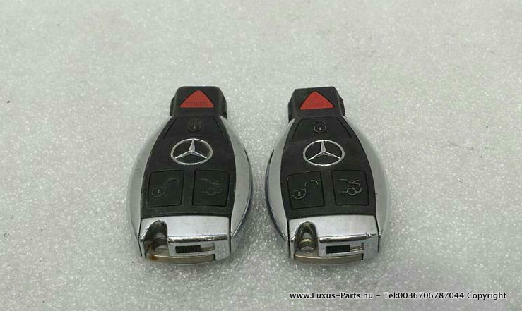 2x MERCEDES S-class W222 Remote Key A2229050105 Ignition USA 315MHZ Schlussel