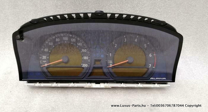 BMW 7 series E65 ALPINA B7 Speedo clock 7969455 Speedometer Instrument Cluster