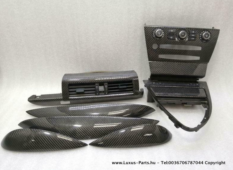 BMW M6 E63 COUPE ORIGINAL CARBON - TRIM RIGH THAND DRIVE SET RHD UK AU JP