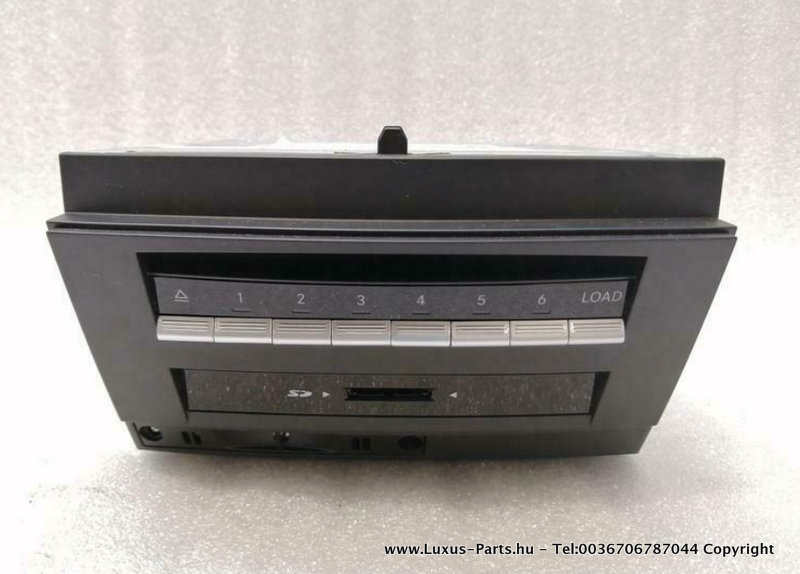 COMAND MERCEDES S W221 CD A2219004704 MOPF FACELIFT W216 EURO DVD