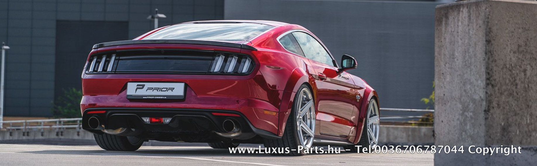 PD WB Light Aerodynamic-Kit | Ford Mustang