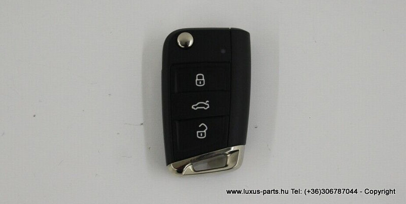 Eredeti VW Polo 6C 3 gombos kulcs 5G6959752L ZV